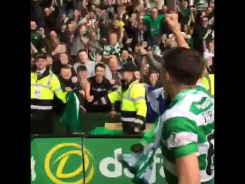 Celebrity celtic and rangers fans be like