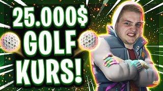 😂⛳️25.000$ GOLF CHALLENGE! | 7 Stunden für die perfekten Hole-In-Ones!