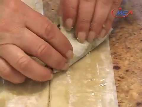 Samira's Kitchen Episode #63 - Spinach Phyllo Triangles, Baklava, Pistachio Phyllo Cups
