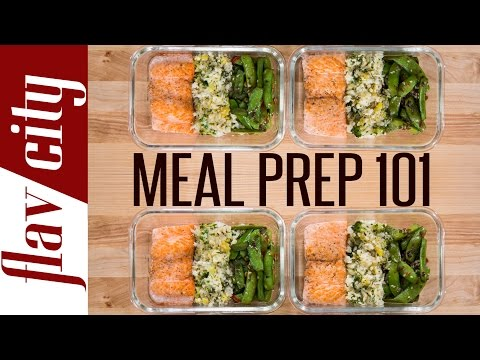 Meal Prep For Dummies – How To Meal Prep Salmon – Salmon Meal Prep