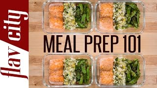 Meal Prep For Dummies – How To Meal Prep Salmon - Salmon Meal Prep