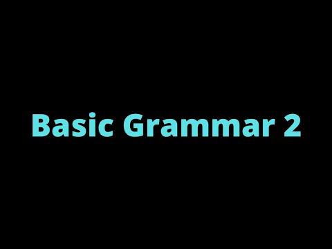 (14) Basic Grammar 2 | Samoan