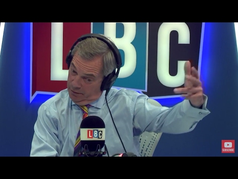 The Nigel Farage Show: Live LBC • 23rd March 2017
