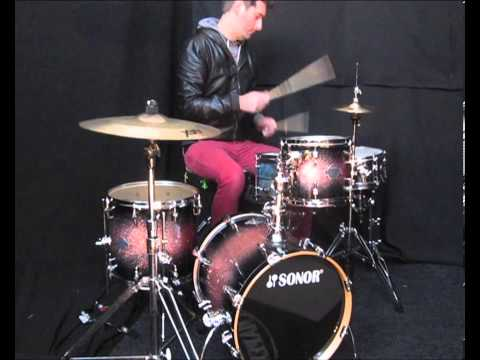 Sonor Jungle  Select Force Maple Drum Kit