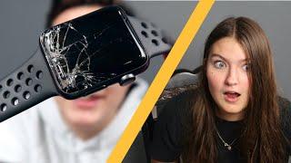 SHE DESTROYED MY APPLE WATCH!! (I Got Revenge)