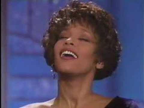 Whitney Houston--the Voice!!! Woooo!