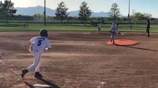 Utah Bombers win over Mammoth Baseball 9-8!
