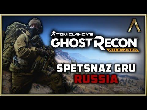 Ghost Recon Wildlands - Character Customization - Let's Create Russian Spetsnaz GRU!