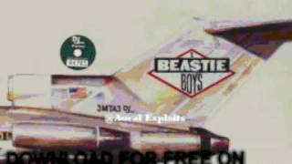 Beastie Boys Rhymin & Stealin Licensed To Ill