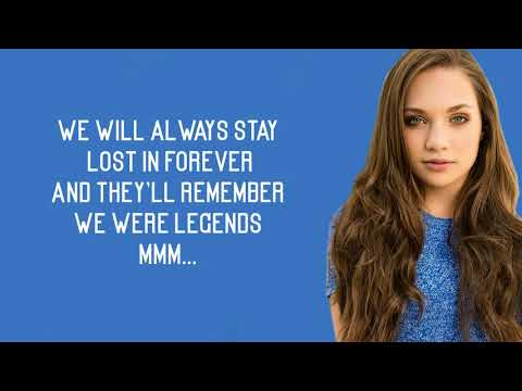 Mackenzie Ziegler - Legends (Lyrics)