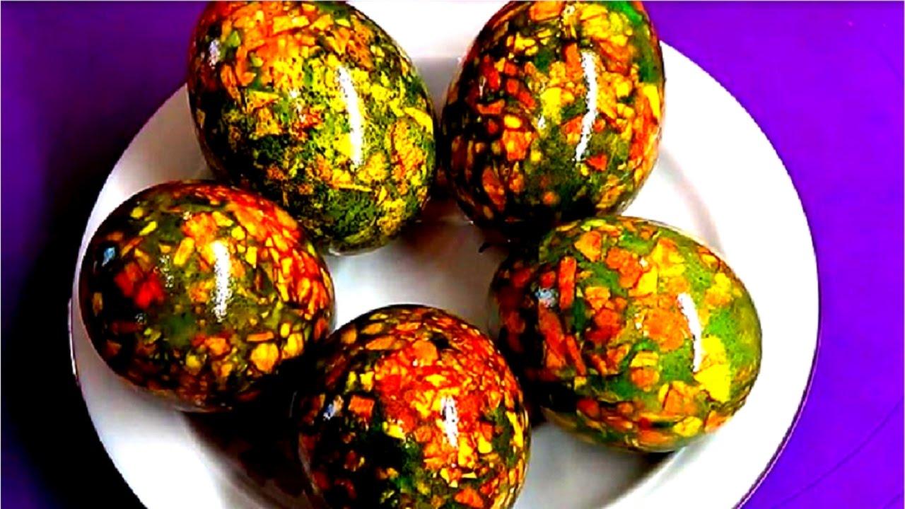 В чем покрасить яйца на пасху своими руками фото 145