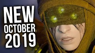 Top 10 New Games Of October 2019