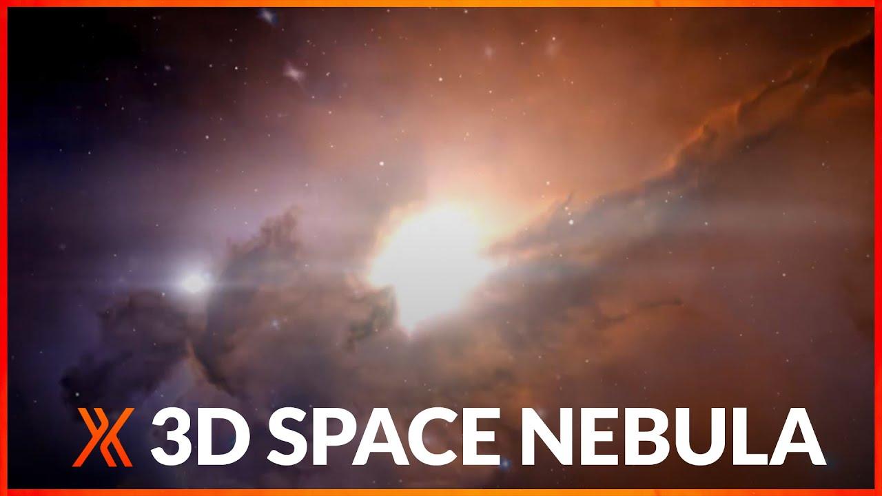 3d picture of stellar nebula-#45