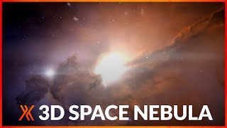 Create a 3D space nebula in HitFilm