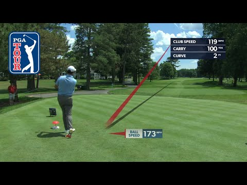 Shot trails from the top 30 in the FedExCup