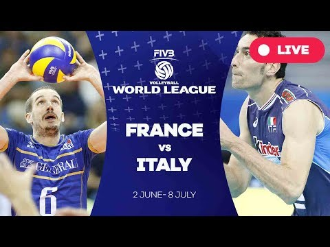 France v Italy - Group 1: 2017 FIVB Volleyball World League