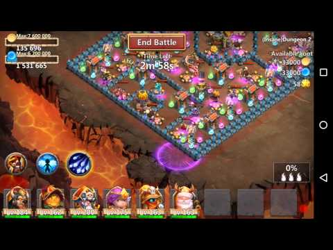 Castle Clash Insane Dungeon 2-1 3 Flame