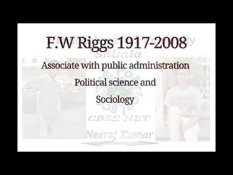 F.W. Riggs (फ्रेड डब्लयु रिग्स)
