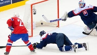 Jan Laco vsetky uzasne zakroky turnaja / all amazing saves IIHF 2014 Belarus, Minsk