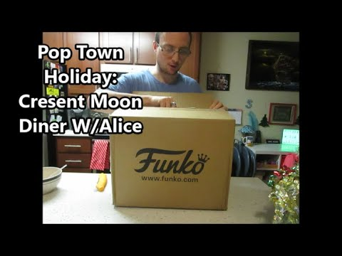 Pop Town Holiday: Cresent Moon Diner