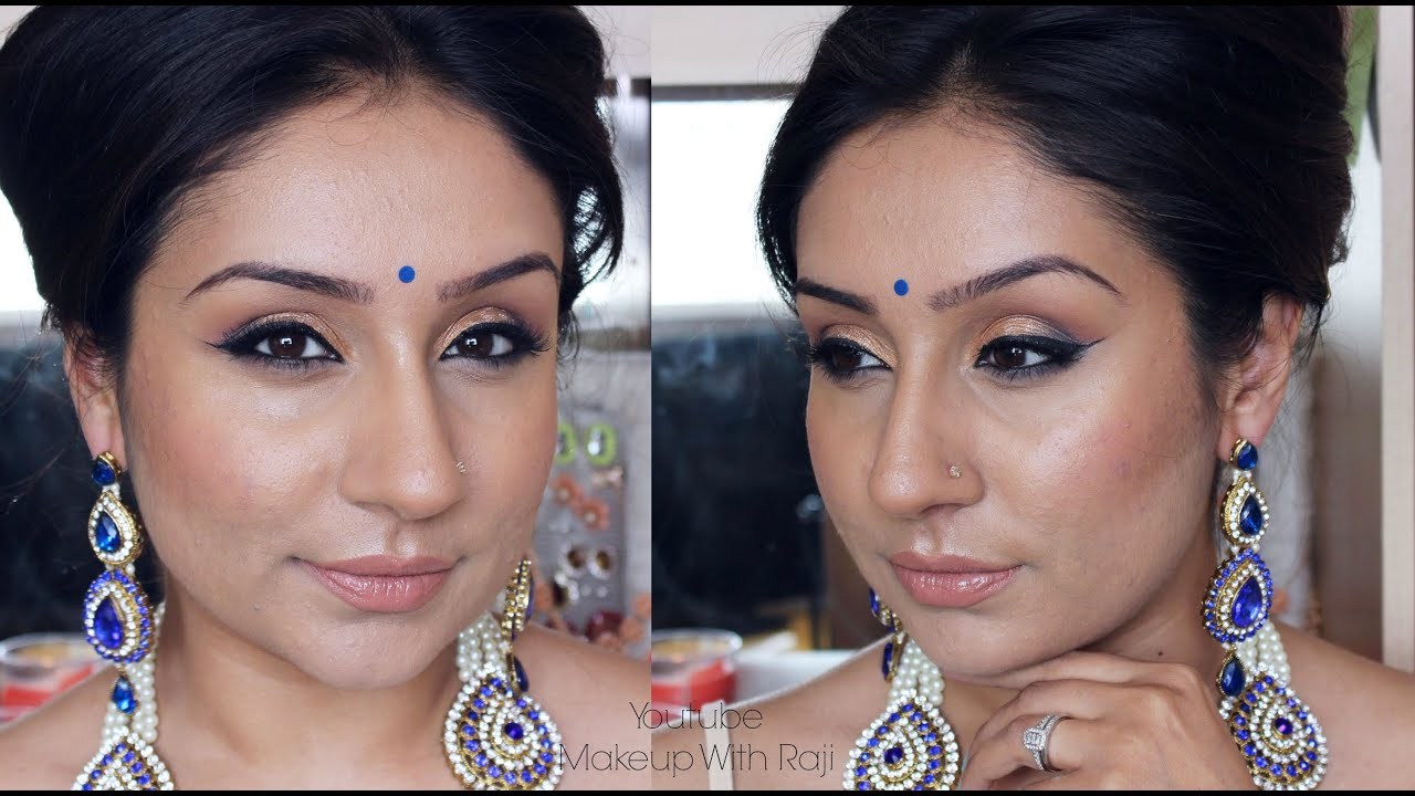 MAKEUP step by step indian bridal party tutorial | Makeup with Raji ...