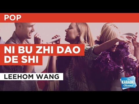 Ni Bu Zhi Dao De Shi : Leehom Wang   Karaoke with Lyrics