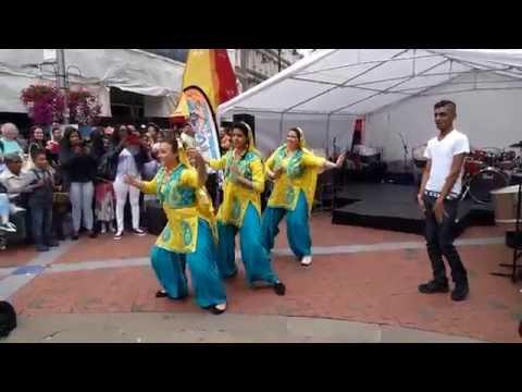 ISCON Reading festival Punjabi Girl's Dance