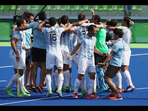 Hockey-Men Final| Argentina|Belgium|Germany|Medal Winners-Rio 2016!!!