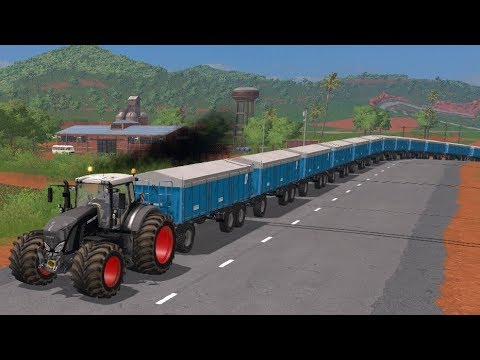 Farming Simulator 17  Timelapse #14 | Unrealistic Series Road to 1 Trillion$ On Estancia Lapacho. thumbnail