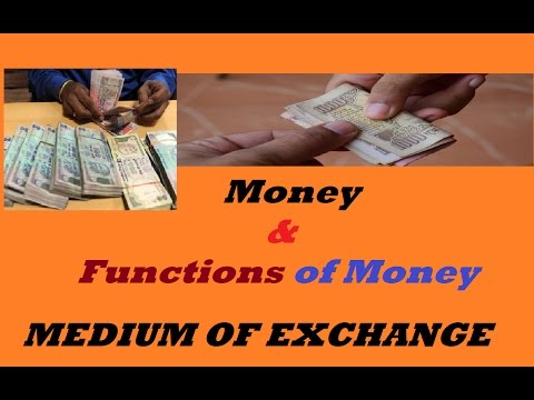 Money and Functions of Money Demonetization and various measures of money issued by RBI Part 1