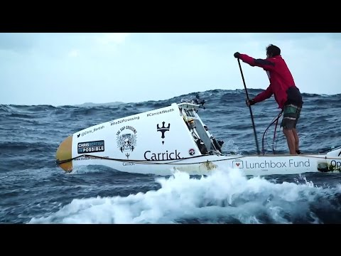 Chris Bertish Crosses the Atlantic for Smiles