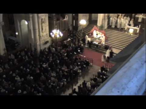Live Organ Improvisation after Communion (La Trinité, Paris)