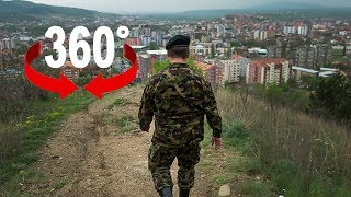 Wie Schweizer Soldaten im Kosovo den Frieden sichern (360-Grad-Video)