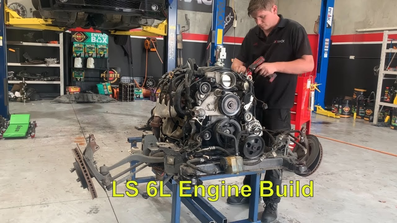 LS 6L Engine Rebuild with Cam Upgrade Part 5 - Engine Disassemble Top End