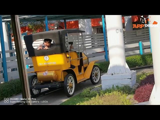 ตัวอย่างวีดีโอ HUAWEI Mate 30 Pro ทดสอบกันสั่นกับเครื่องเล่นรถคุณปู่