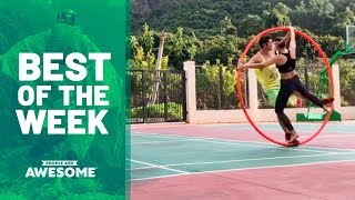 Cyr Wheels, Bo Staff Tricks & More | Best of the Week Video