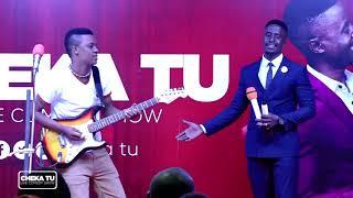 CHEKA TU. Love Edition. Emmanuel gripa  na Mr. Romantic wakiburudisha familia ya CHEKA TU.