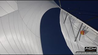 Stage formation ACM sur catamaran Nautitech Open 40 - Etape 3 - Cartagena - Barcelona