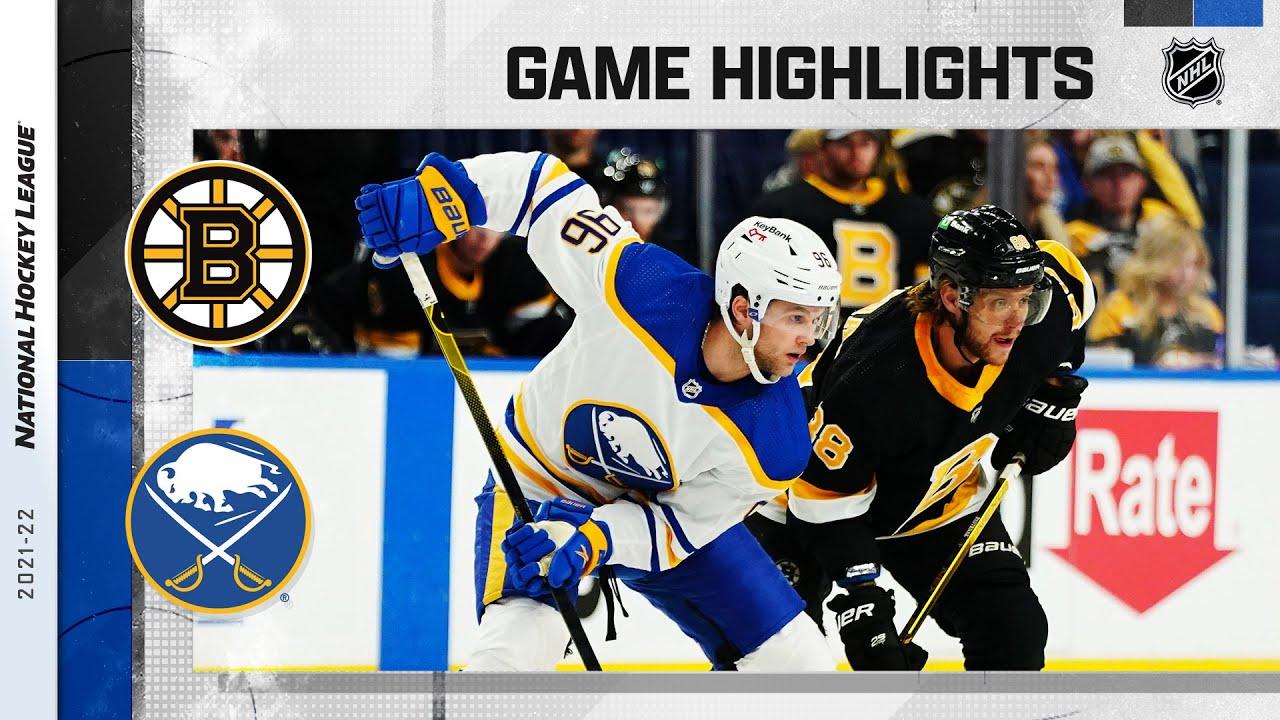 Download Bruins @ Sabres 10/22/21 | NHL Highlights