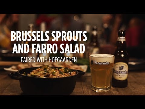 Hungry for the Holidays: Brussels Sprouts and Farro Salad