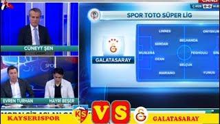 Maç Günü ,Ç Rizespor 1-2 Başakşehir , Kayserispor  Galatasaray  yorumları