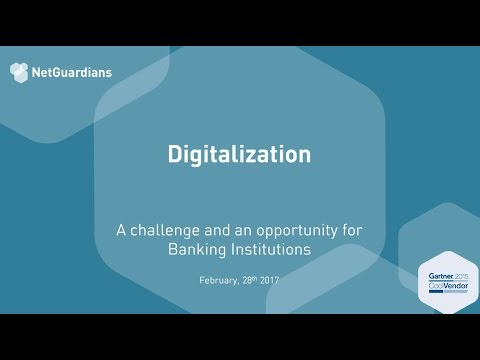 Webinar - Digitalization: A Challenge and An Opportunity for Banks