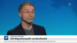 Reinhard Merkel, Universität Hamburg: Migrationspakt soll Migration fördern