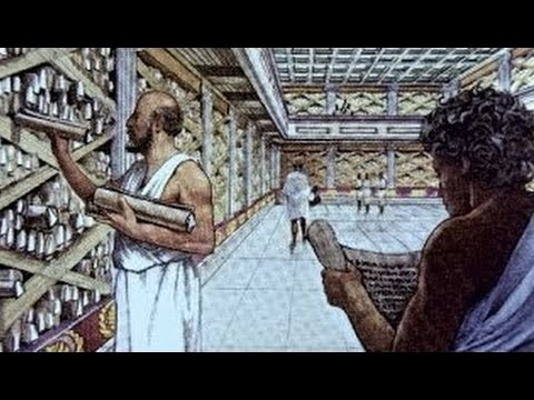 History channel documentary - The Library of Alexandria