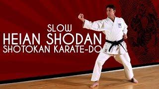 Heian Shodan SLOW Shotokan Karate Kata JKA