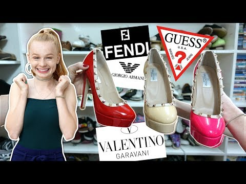 DESIGNER SHOPPING in DUBAI THRIFT STORE! 😍 **FENDI, VALENTINO....**