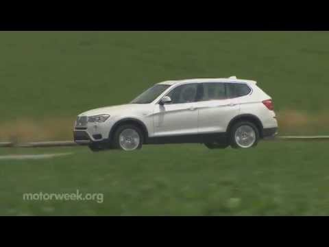 MotorWeek | Road Test: 2015 BMW X3d