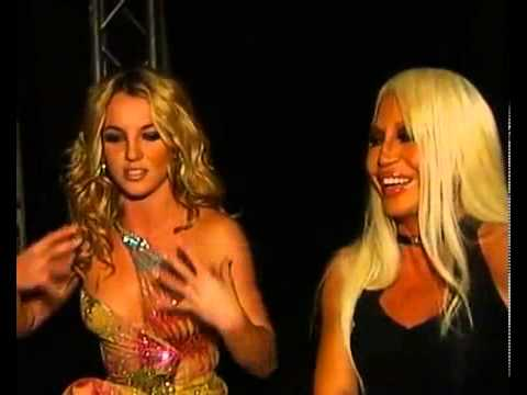 Britney Spears And Donnatella Versace Interview