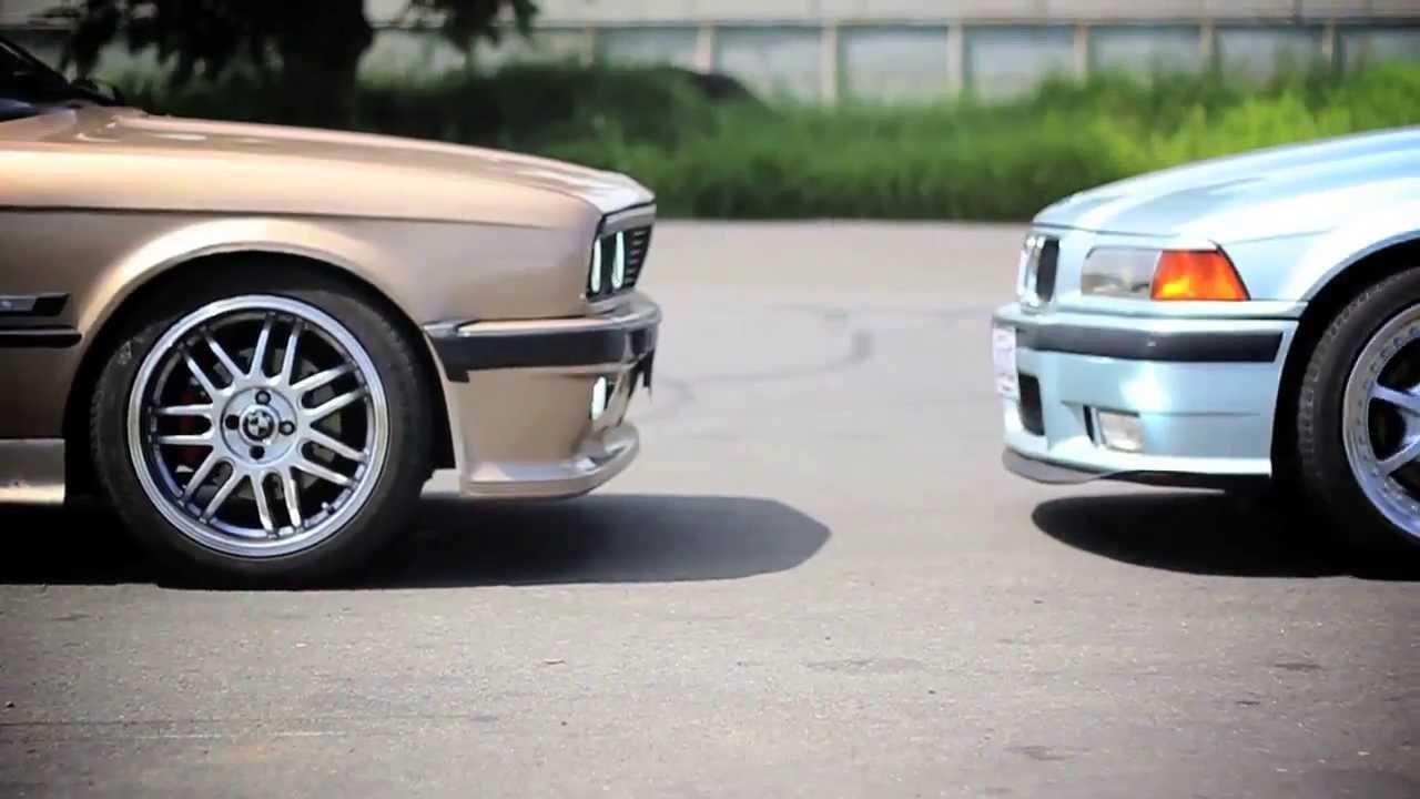 BMW E30 M3 >> BMW E30 vs BMW E36 - Amigos BMW CR - YouTube