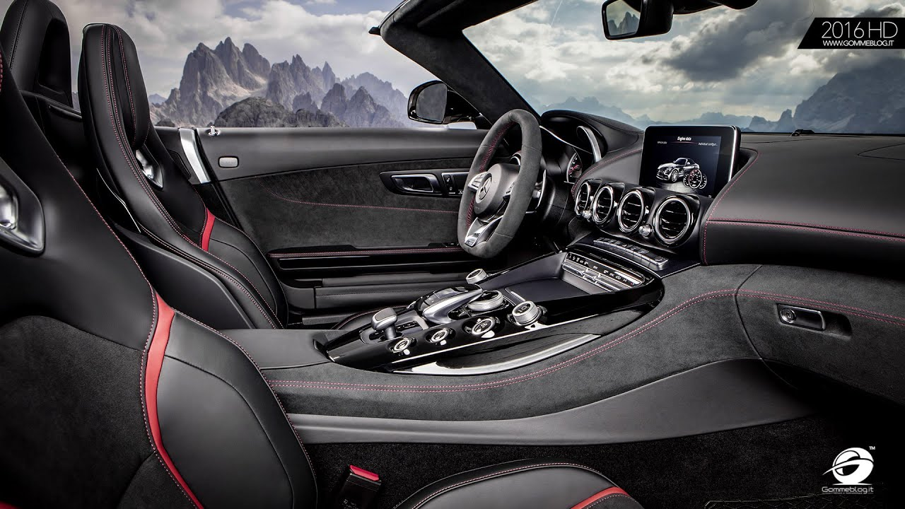 Mercedes Amg Gt Interior Design Revealed